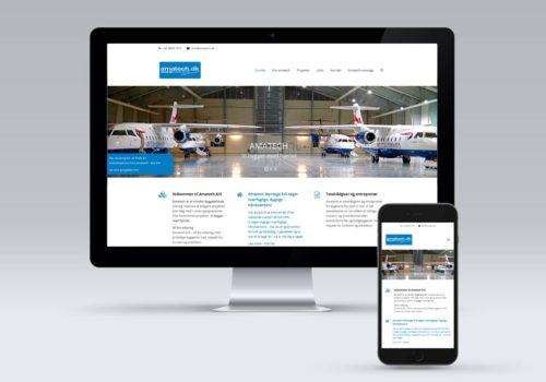 Amatech A/S Hjemmeside